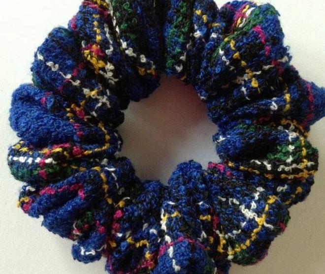 boucle scrunchie