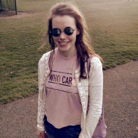 alt=<who cares tshirt>