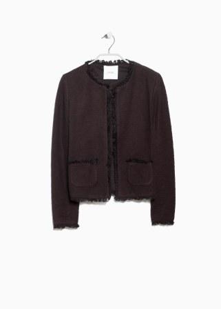 alt=<black fringe jacket>