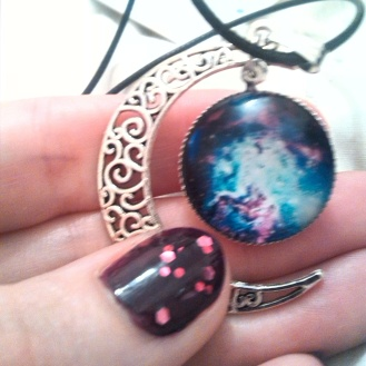 alt=<galaxy necklace>