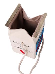 alt=<Romwe carton bag >