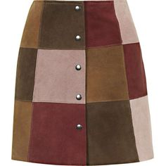 alt=<Topshop patchwork skirt>