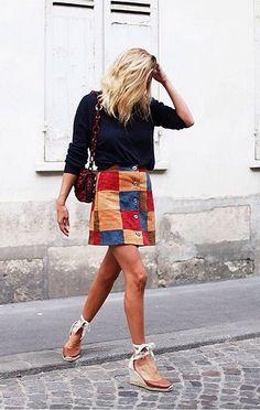 alt=<patchwork skirt>