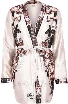 "alt=""river-island-womens-beige-floral-print-robe"""