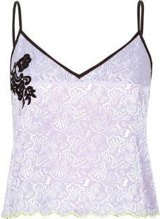 """alt=""""purple-lace-jacquard-cami-pajama-top"""""""