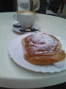 alt=<ensaimada pastry>