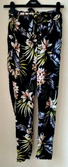 floral pyjama trouser edit