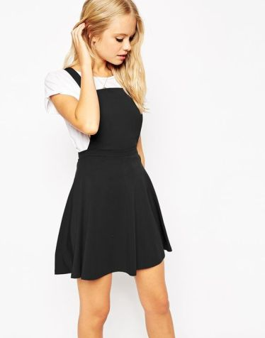 Black Pinafore. Pic: Asos.com