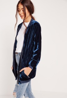 Longline blue bomber. Pic: Missguided.com
