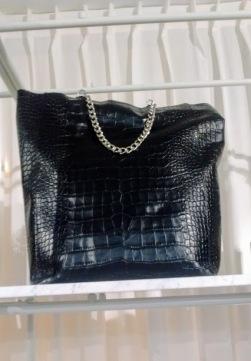 black-chain-bag
