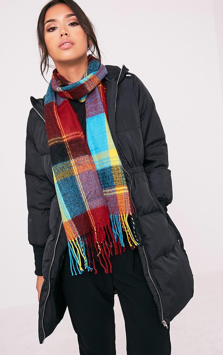 alt=< multi colour scarf>