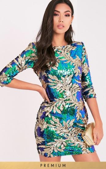 Premium sequin dress PLT. Was €70, now €42. Pic: Prettylittlething.com
