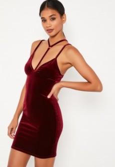 Red harness dress. Pic: Missguided.com
