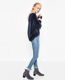 Fray hem jeans. Pic: Zara.com