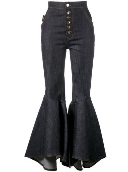 alt+< frill hem jeans>