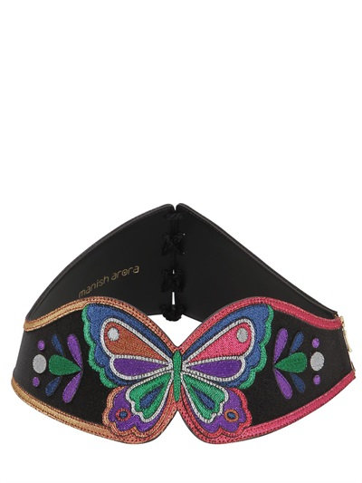 alt=< Manish Aurora corset belt>