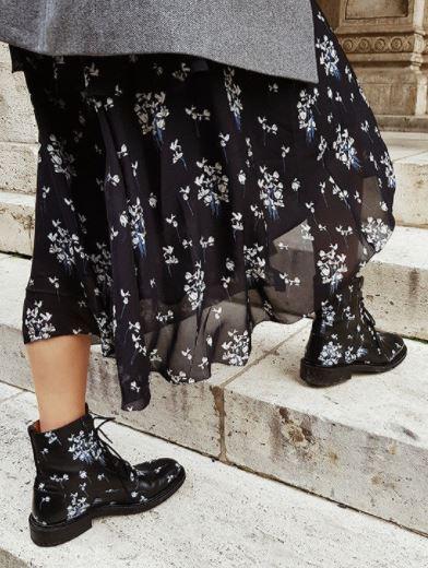 erdem floral boots