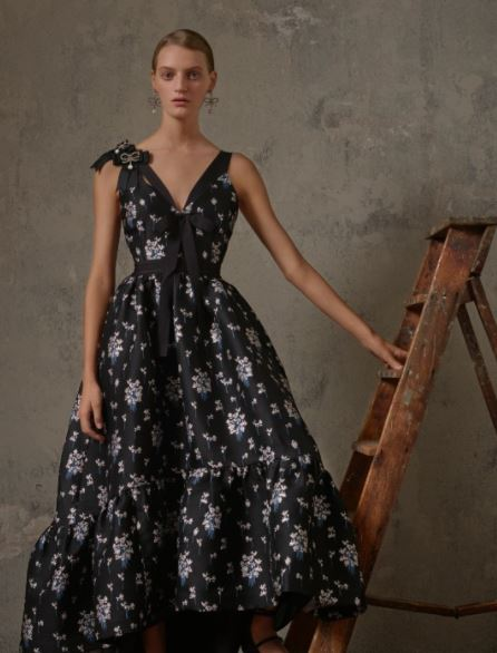 Erdem x H&M long floral dress