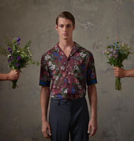 ErdemXHM mens floral shirt