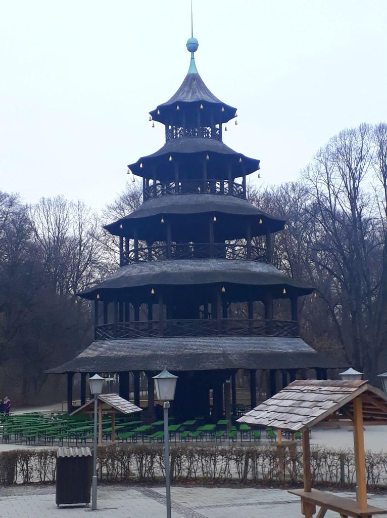 Chinese tower, English Gardens