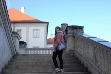 Steps of Schloss Nymphenburg