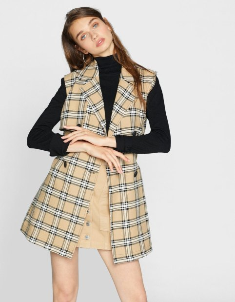 alt=<check-waistcoat-dress>