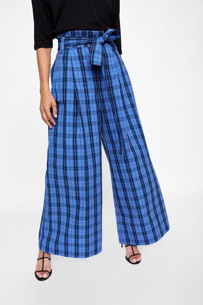 alt= <Blue check trousers>